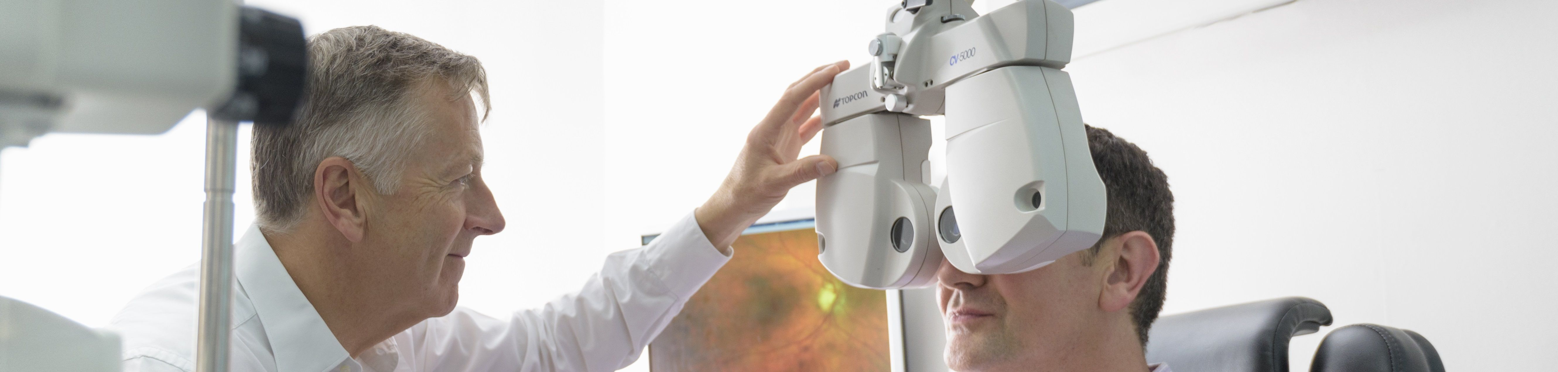 What to expect in an eye exam